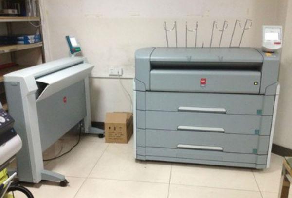 鑫乐美-青岛复印机租赁奥西 TDS700工程复印机