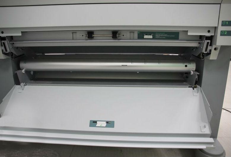 奥西tds600工程复印机特写1